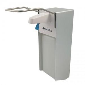 Локтевой дозатор для дезинфицирующих средств Ksitex DM-1000 (1 л)