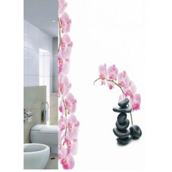 Шторка для ванной Orchid DR-50027
