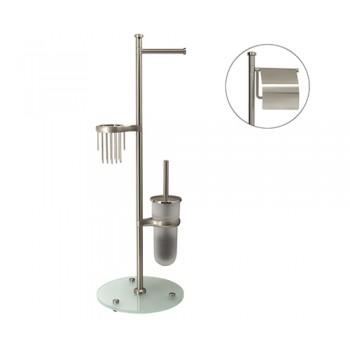 Напольная стойка для туалета WasserKRAFT K-1236 матовая