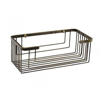 Полка для ванной прямая бронзовая WasserKRAFT K-744