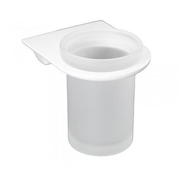 Стакан для зубных щеток настенный белый Kammel K-8328WHITE