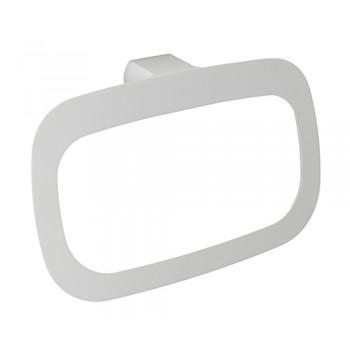 Кольцо для полотенец белое Kammel K-8360WHITE
