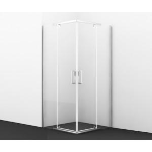 Душевой уголок с распашными дверьми Leine 35P03 квадрат