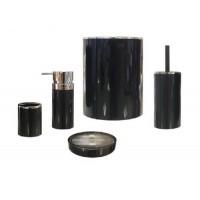 Набор аксессуаров для ванной Lenox M-E31-06 черный