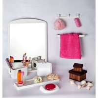 Набор аксессуаров для ванной с зеркалом Primanova M-02801
