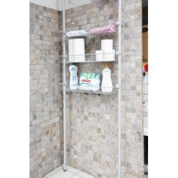 Система хранения для ванной с 3-мя полками-решетками Primanova M-B29-07