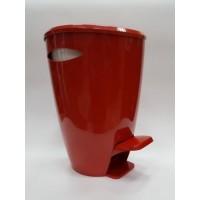 Ведро для мусора FELY Primanova (5 л) M-E04-04-01 красное