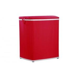 Корзина для белья красная Primanova M-E09-04