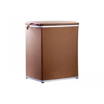 Корзина для белья складная сетка M-E09-10 коричневая