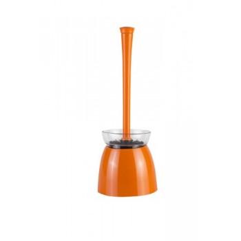 Ерш для туалета Duo M-E18-08-08 оранжевый