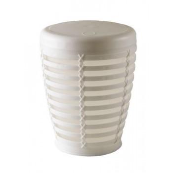 Урна для мусора Palm белая (7,5 л) M-E21-01-01