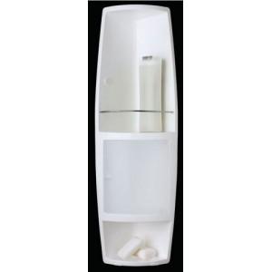 Угловой шкафчик для ванной Stack M-S04-16 прозрачный
