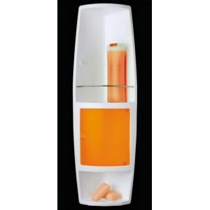Угловой шкафчик для ванной Stack M-S04-17 оранжевый