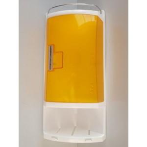Шкафчик для ванной комнаты Primanova M-S05-17 оранжевый