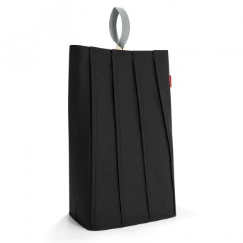 Корзина для белья Laundrybag L black PB7003 черная