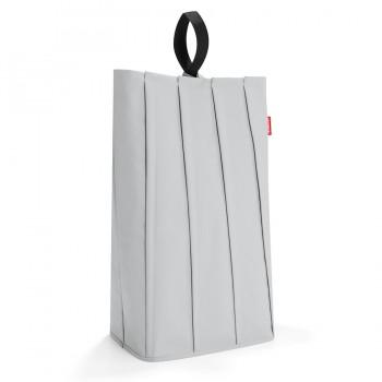 Корзина для белья Laundrybag M light grey PA7030 светло-серая