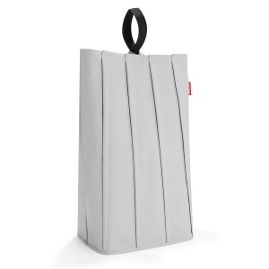 Корзина для белья Laundrybag L light grey PB7030 светло-серая