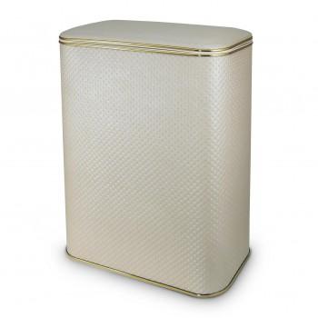 Корзина для белья Cameya PLG-B бежевая/золото