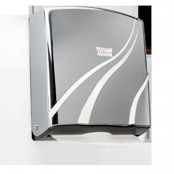 Диспенсер для бумажных полотенец SD-F090 хром