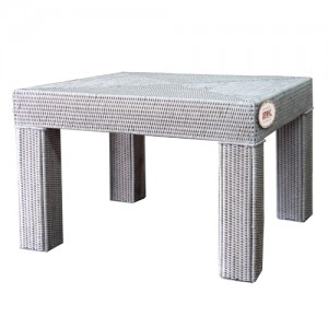 Кофейный столик из ротанга TAB-58sv беленый