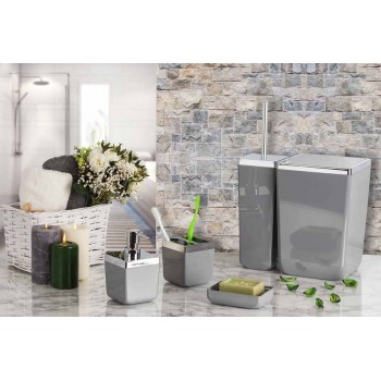 Набор аксессуаров для ванной Toskana M-SA01-07 серый