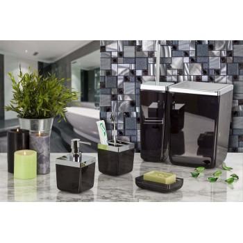 Набор аксессуаров для ванной Toskana M-SA01-25 черный