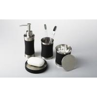 Набор аксессуаров для ванной черный WasserKRAFT Wern K-7500