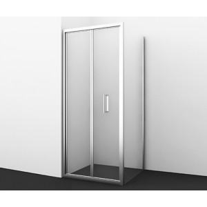 Душевой уголок гармошка Weser 78F03 с универсальной дверью