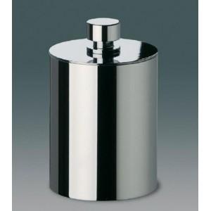 Баночка косметическая большая Windisсh Cylinder Plain 88416CR хром