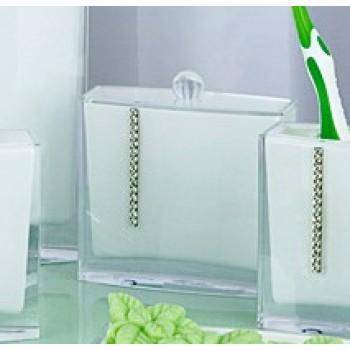 Контейнер для ватных палочек Roma D-14706 белый