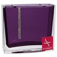 Стакан для зубных щёток Roma D-14722 фиолетовый