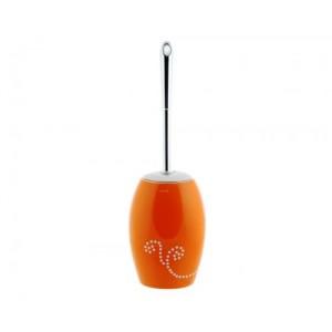 Ерш для туалета Maison D-15375 оранжевый