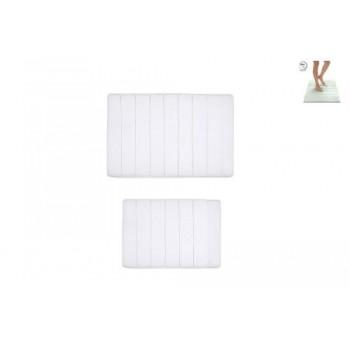 Коврик для ванной Memory D-16024 белый (2 шт.)