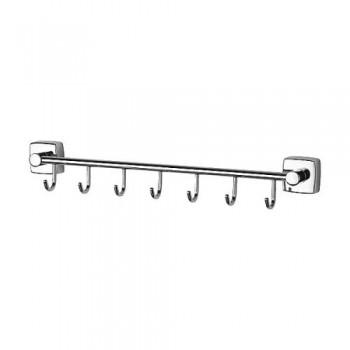 Планка с 7-ю крючками 40 см ESP028