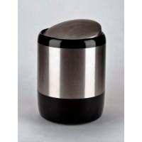 Ведро для мусора черное (6 л) Lima M-E06-06