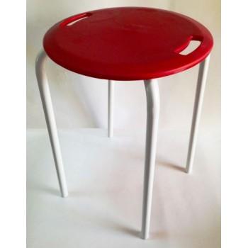 Стул для ванной красный M-KV18-04