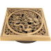 Решетка для трапа бронза Bronzedeluxe (10х10) в ассортименте