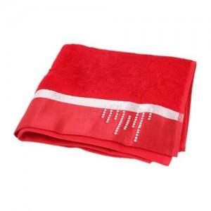 Полотенце Roma красное D-15238 (50x90)
