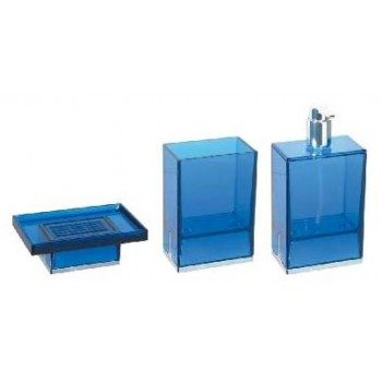 Набор аксессуаров для ванной синий Koh-i-noor Lem B