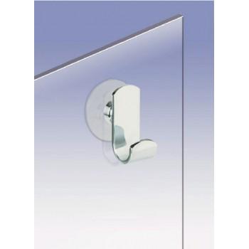 Крючок для душевой кабины на присоске WINDISCH 85043 Chrome