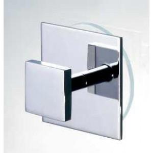 Крючок для душевой кабины квадратный на присоске WINDISCH 85053 Chrome