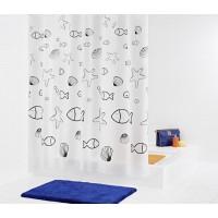 Штора для ванных комнат Seashell RIDDER 32630