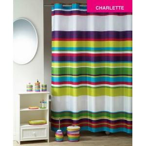 Штора для ванной с люверсами 180*200 см. PRIMANOVA DR-60014 Charlette