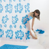 Штора для ванных комнат Flowerpower (П) RIDDER 32353