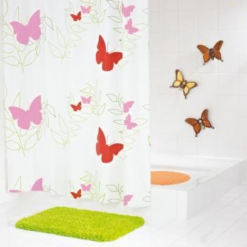 Штора для ванных комнат Butterflies RIDDER 32606