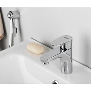 Смеситель для раковины с гигиенической лейкой WasserKRAFT Leine 3508