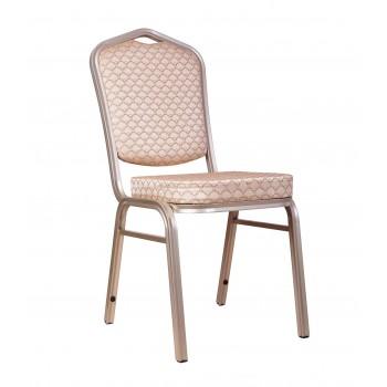 """Банкетный стул """"Хит 25мм"""" - бронза, бежевый арш 006-25"""