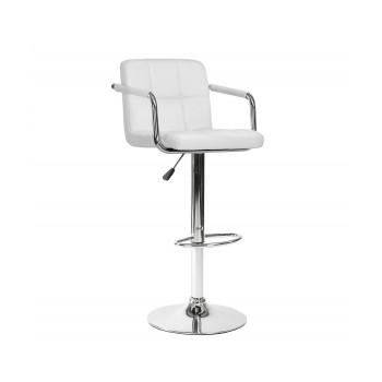Барный стул Kruger Arm белый 003-54