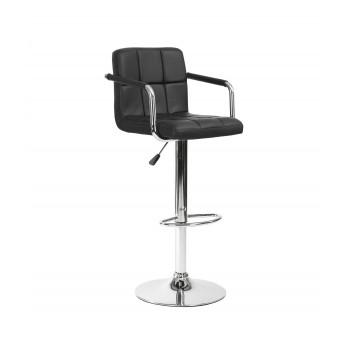 Барный стул Kruger Arm черный 003-53