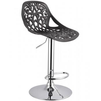 Барный стул Орнамент (Ornament) черный 001-55
